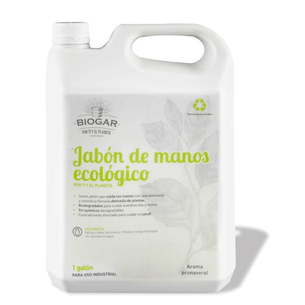 JABÓN DE MANOS ECOLÓGICO, 1 GALÓN