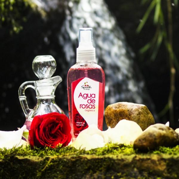 Agua de Rosas Orgánica Cuidado de la piel