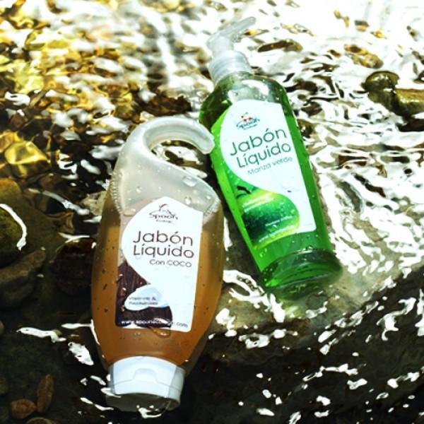 Jabón Líquido Manzana Verde, Cuidado de la piel