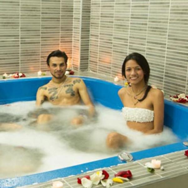 Hidroterapia en Pareja